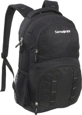 Samsonite Stratford Backpack Black Samsonite Laptop Backpacks