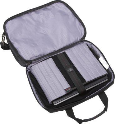 Samsonite Xenon 2 Top Loader 2 Gusset PFT/TSA Black - Samsonite Non-Wheeled Business Cases
