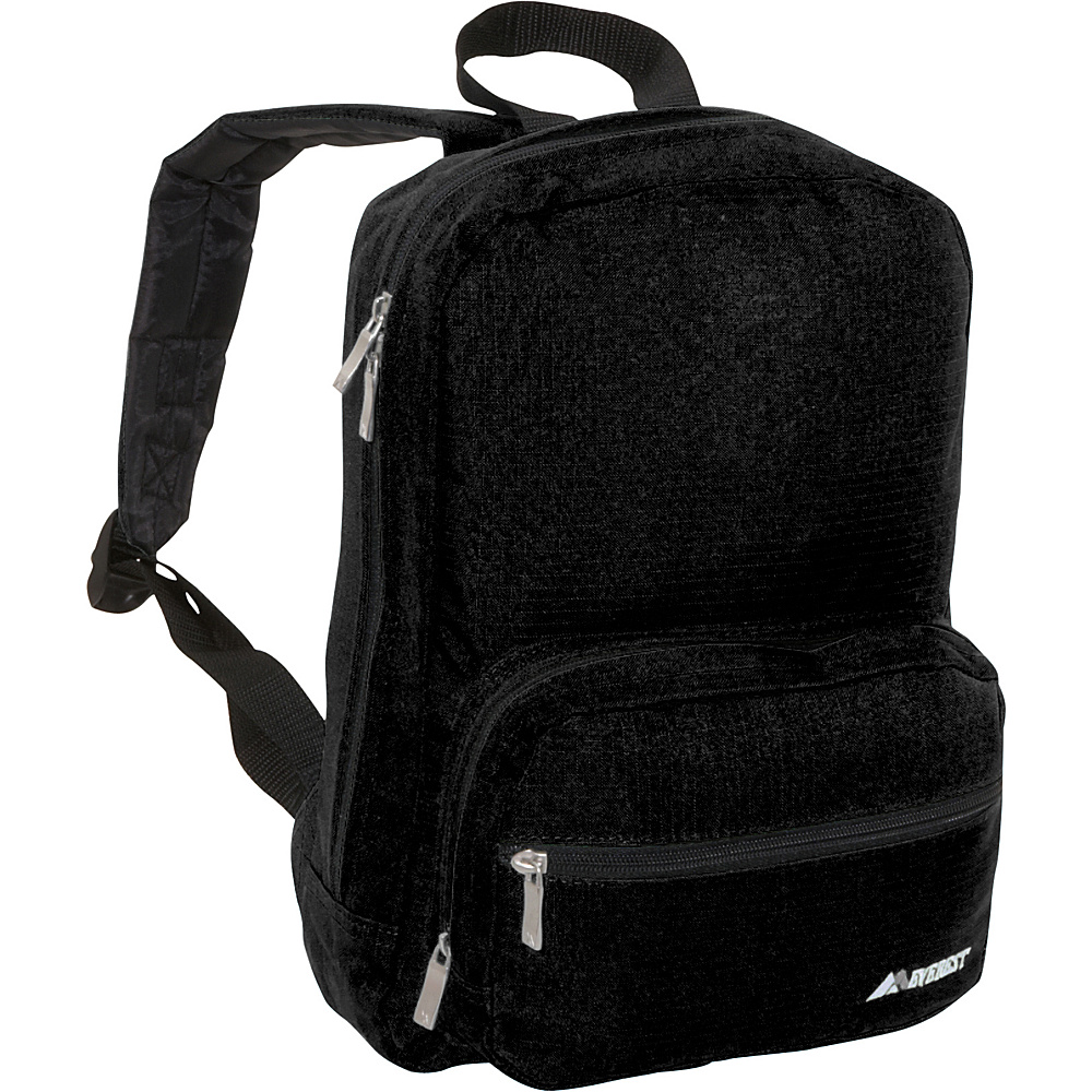 Everest Junior Ripstop Backpack Black - Everest Everyday Backpacks