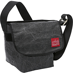 Stonewash Vintage Messenger Bag (SM) Black