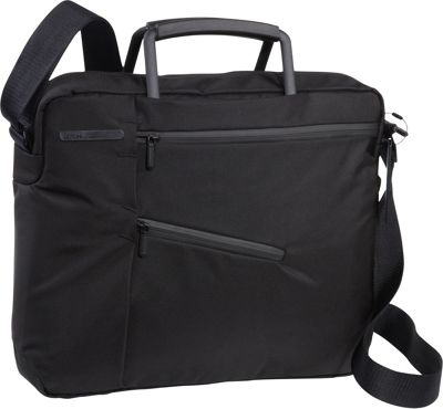 Lexon Challenger Mini Document Bag for 13 Laptops BLACK - Lexon Non-Wheeled Computer Cases