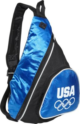 Extended Exposure Olympic Games Blue Sling Bag