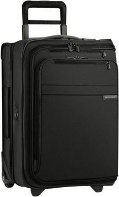Briggs & Riley Baseline Domestic Carry-On Upright Garment Bag Black - Briggs & Riley Garment Bags
