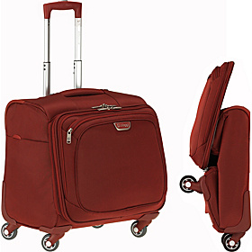 Volo Foldable 16'' Spinner Tote Red