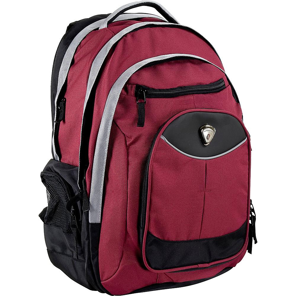 CalPak Big Shot Laptop Backpack Deep Red - CalPak Laptop Backpacks