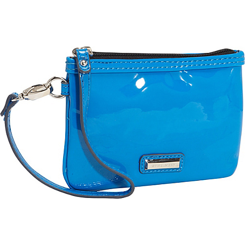 Nine West Handbags Day Glo Mini Wristlet Electric Blue - Nine West Handbags Ladies Small Wallets