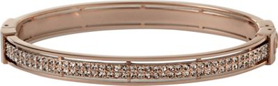 Fossil Iconic Items Turnlock Bangle Rose Gold - Medium - Fossil Other Fashion Accessories