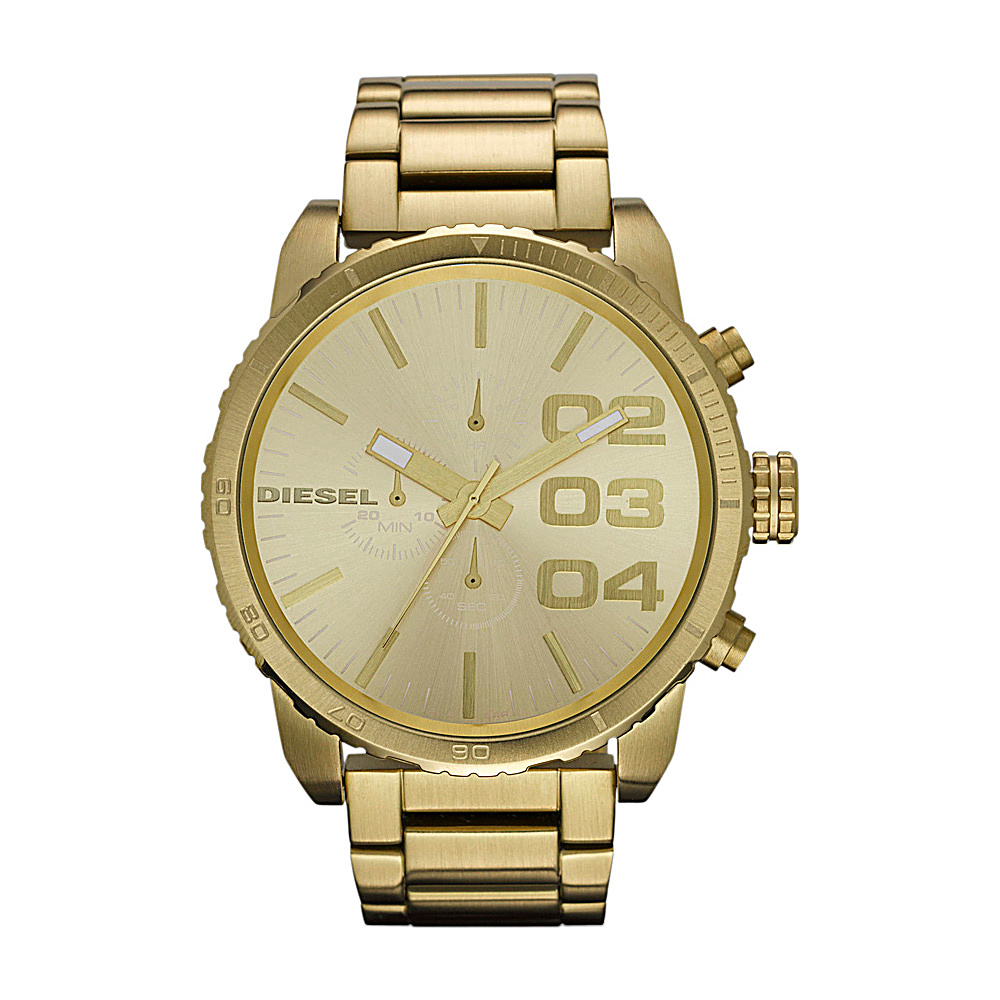 Diesel Watches Franchise 51 Gold - Diesel Watches Watches