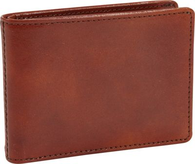 Bosca Old Leather Small Bifold Wallet Old Leather Amber