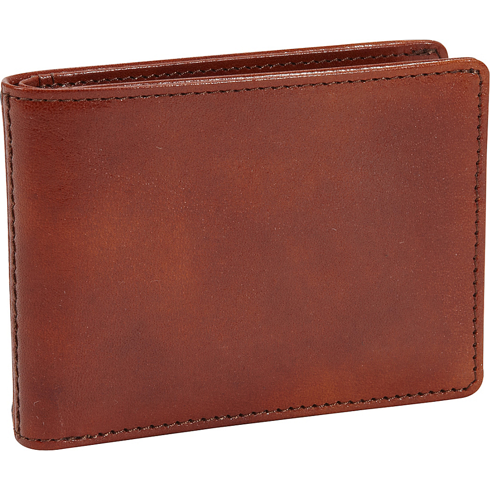 Bosca Old Leather Small Bifold Wallet Old Leather Amber (27) - Bosca Men's Wallets
