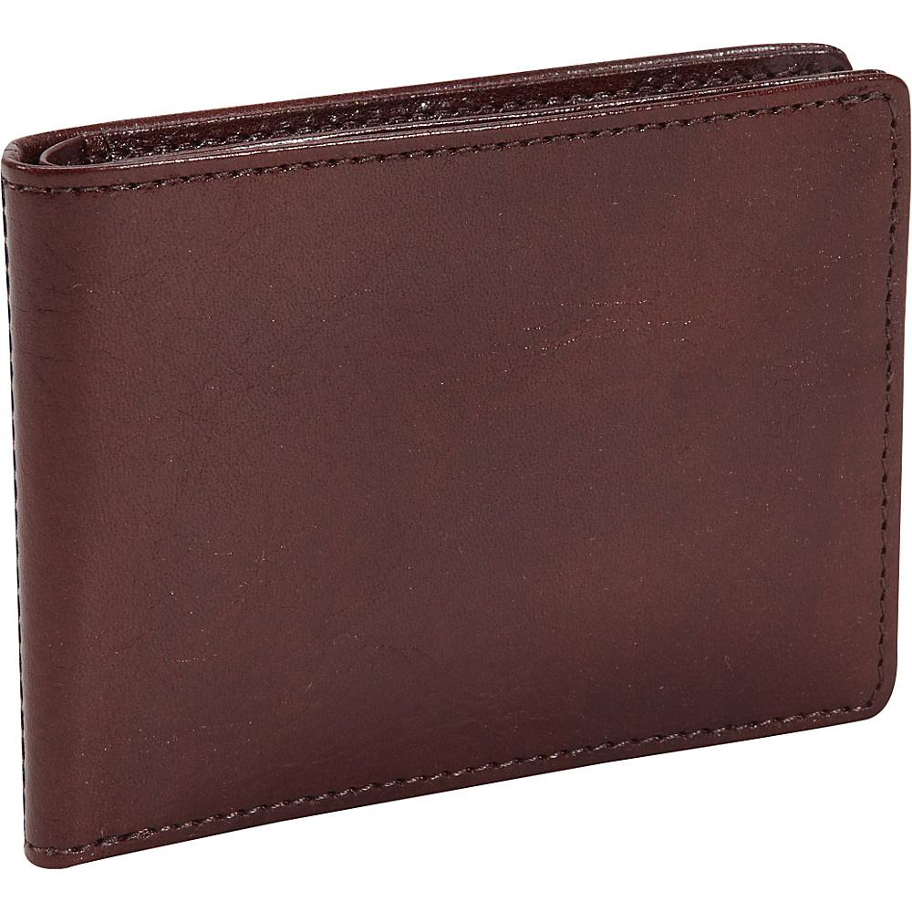 Bosca Old Leather Small Bifold Wallet Dark Brown - Bosca Men's Wallets
