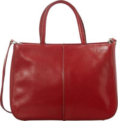 Hobo Mariella Satchel Red - Hobo Leather Handbags