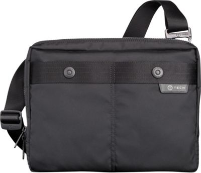 Tumi T-Tech Gateway Kochi Tablet Messenger Black - Tumi Men's Bags