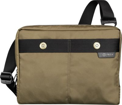 Tumi T-Tech Gateway Kochi Tablet Messenger Moss - Tumi Men's Bags