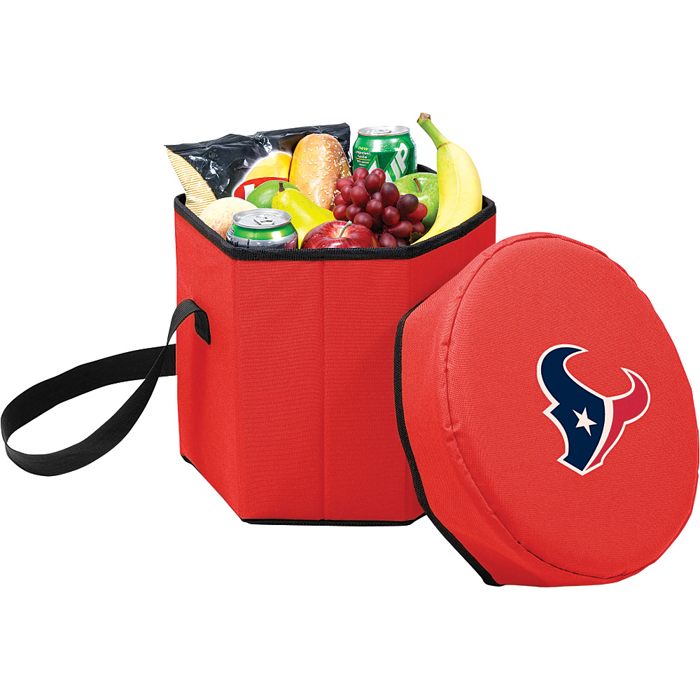 Picnic Time Houston Texans Bongo Cooler Houston Texans Red - Picnic Time Outdoor Coolers - Outdoor, Outdoor Coolers