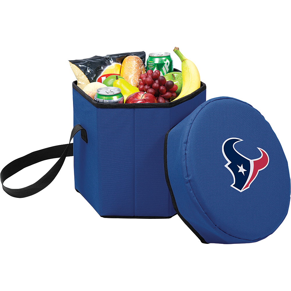 Picnic Time Houston Texans Bongo Cooler Houston Texans Navy - Picnic Time Outdoor Coolers - Outdoor, Outdoor Coolers