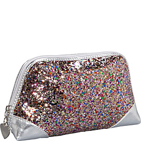 Insta-Glam Cosmetic Case Pink Multi/Bright Silver
