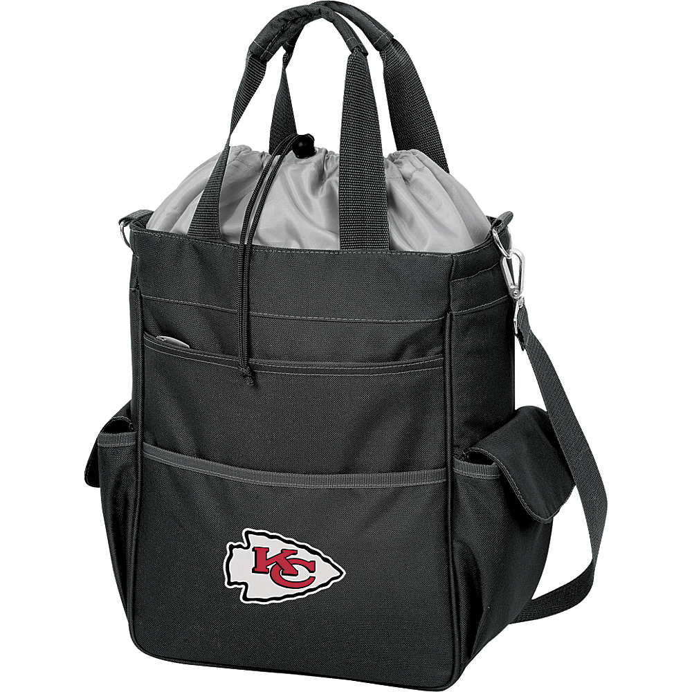 Picnic Time Kansas City Chiefs Activo Cooler Kansas City Chiefs Black - Picnic Time Outdoor Coolers - Outdoor, Outdoor Coolers
