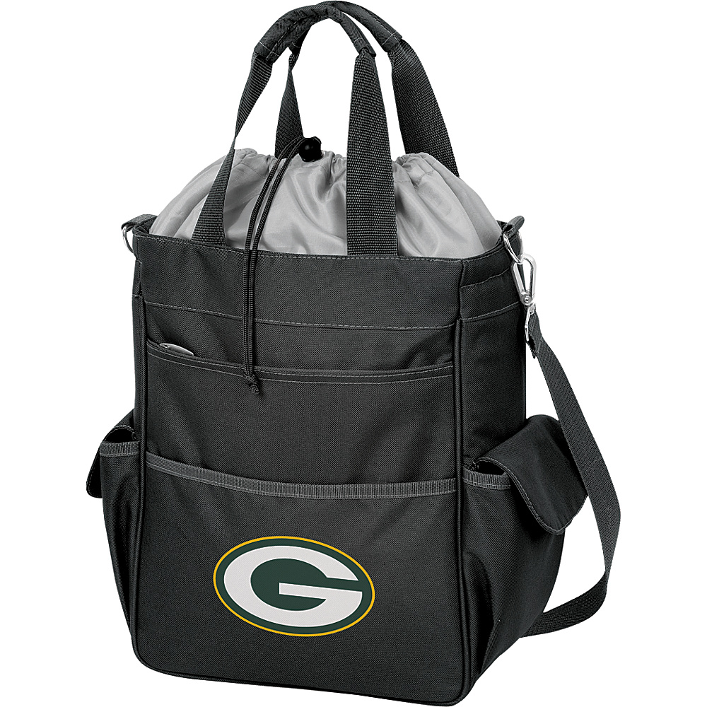 Picnic Time Green Bay Packers Activo Cooler Green Bay Packers Black - Picnic Time Outdoor Coolers - Outdoor, Outdoor Coolers