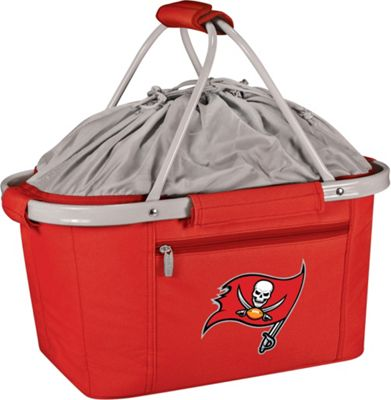 Picnic Time Tampa Bay Buccaneers Metro Basket Tampa Bay Buccaneers Red - Picnic Time Outdoor Coolers 10218166