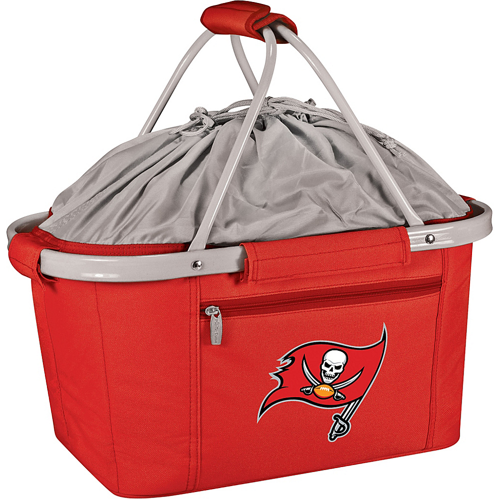 Picnic Time Tampa Bay Buccaneers Metro Basket Tampa Bay Buccaneers Red - Picnic Time Outdoor Coolers - Outdoor, Outdoor Coolers