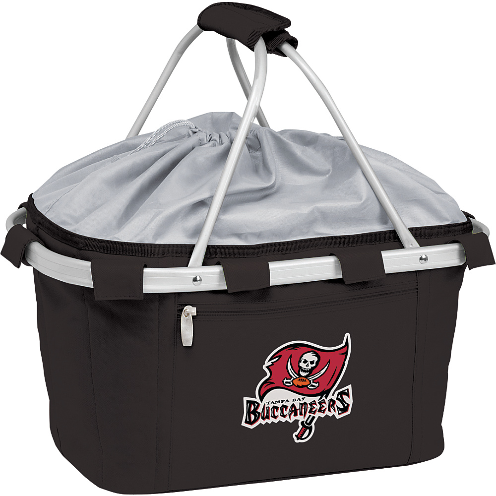 Picnic Time Tampa Bay Buccaneers Metro Basket Tampa Bay Buccaneers Black - Picnic Time Outdoor Coolers - Outdoor, Outdoor Coolers