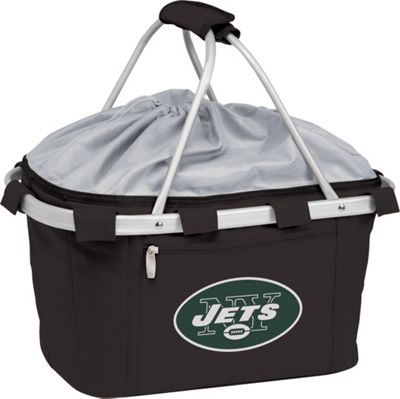 Picnic Time New York Jets Metro Basket New York Jets Black - Picnic Time Outdoor Coolers