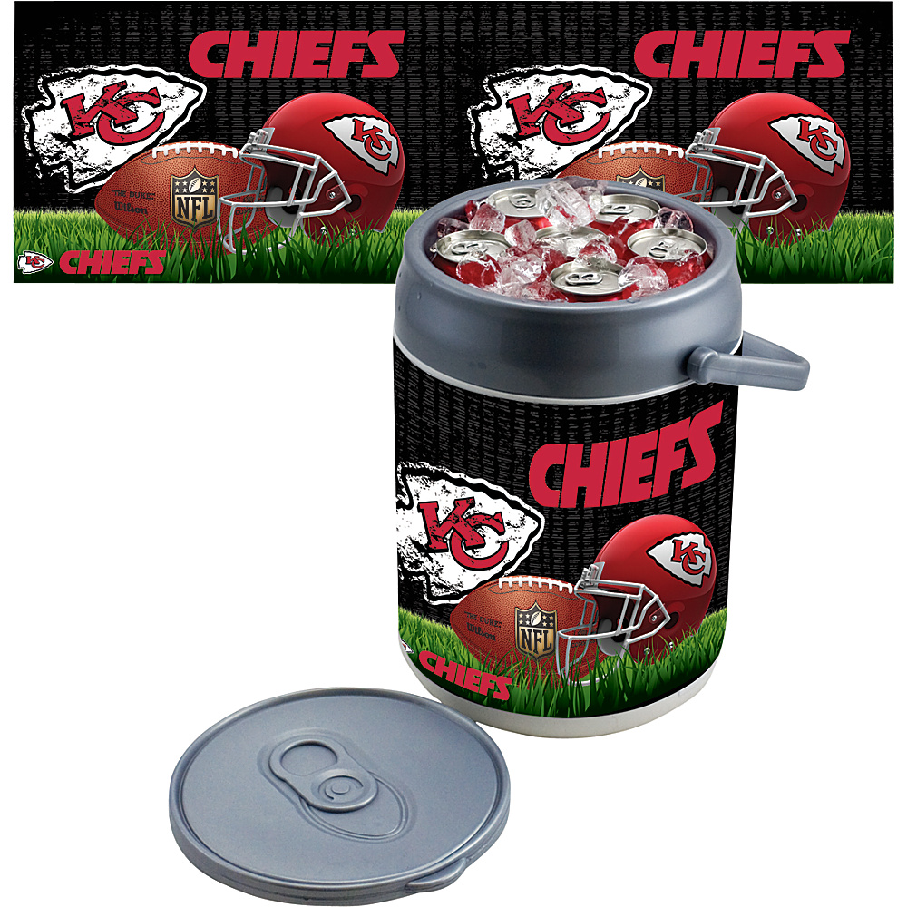 Picnic Time Kansas City Chiefs Can Cooler Kansas City Chiefs - Picnic Time Outdoor Coolers - Outdoor, Outdoor Coolers