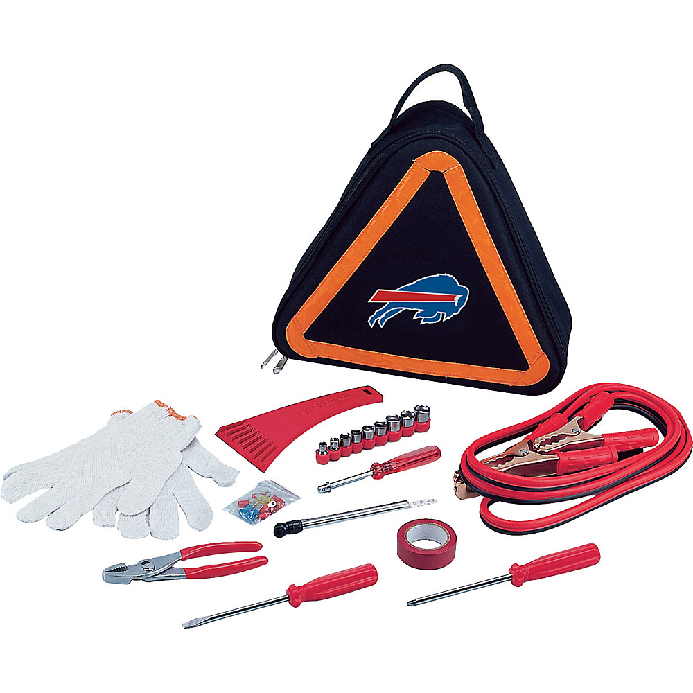 Picnic Time Buffalo Bills Roadside Emergency Kit Buffalo Bills - Picnic Time Trunk and Transport Organization - Travel Accessories, Trunk and Transport Organization