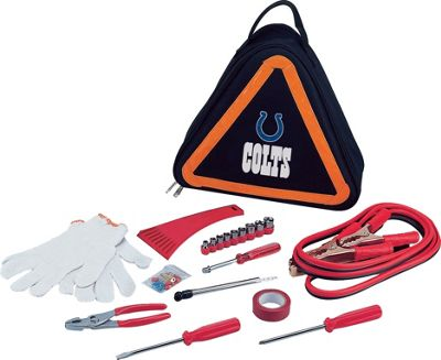 Image of Picnic Time Indianapolis Colts Roadside Emergency Kit Indianapolis Colts - Picnic Time Auto Travel Accessories