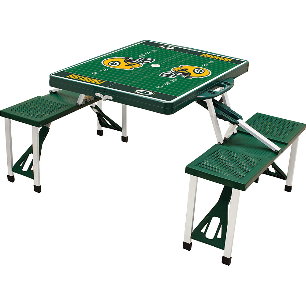 Picnic Time Green Bay Packers Picnic Table Sport Green Bay Packers Hunter - Picnic Time Outdoor Accessories - Outdoor, Outdoor Accessories