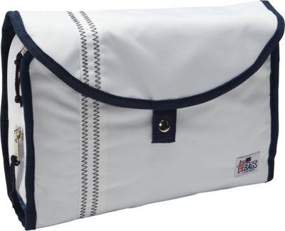 SailorBags Hanging Toiletries Kit White - SailorBags Toiletry Kits