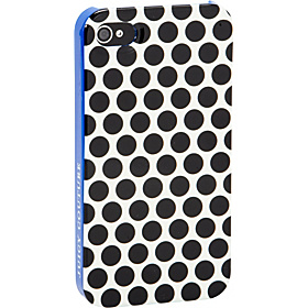 Polka Dots iPhone Case- 4/4S Black