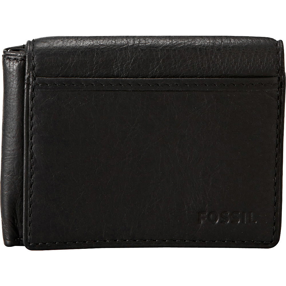 Fossil Ingram Execufold Wallet Black Fossil Men s Wallets