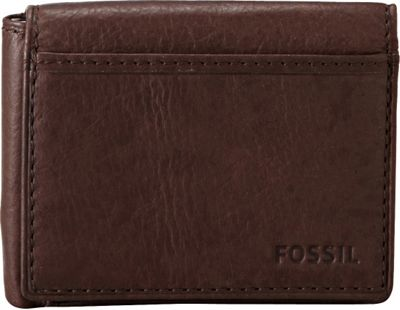 Fossil Ingram Execufold Wallet Brown - Fossil Men's Wallets