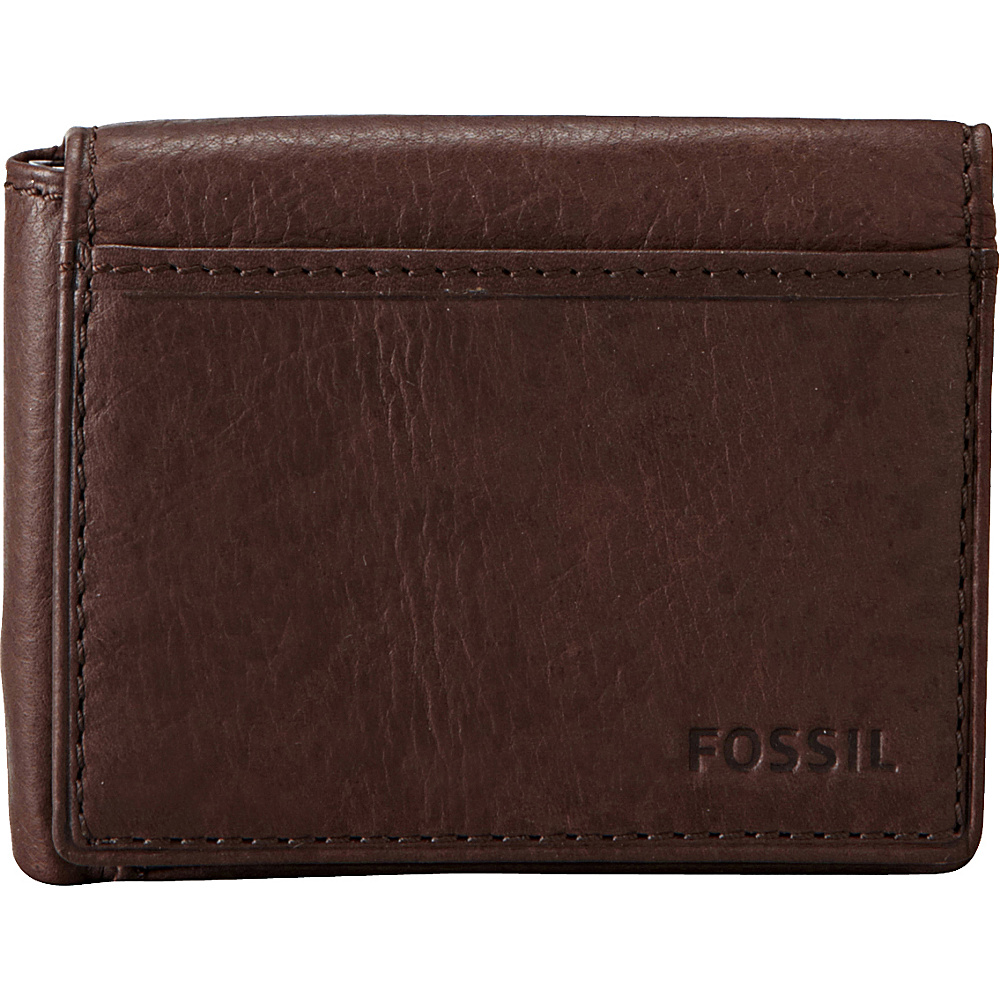 Fossil Ingram Execufold Wallet Brown - Fossil Mens Wallets - Work Bags & Briefcases, Men's Wallets