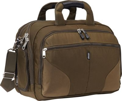 eBags eTech 2.0 Firewall  Laptop Brief Olive - eBags Non-Wheeled Computer Cases
