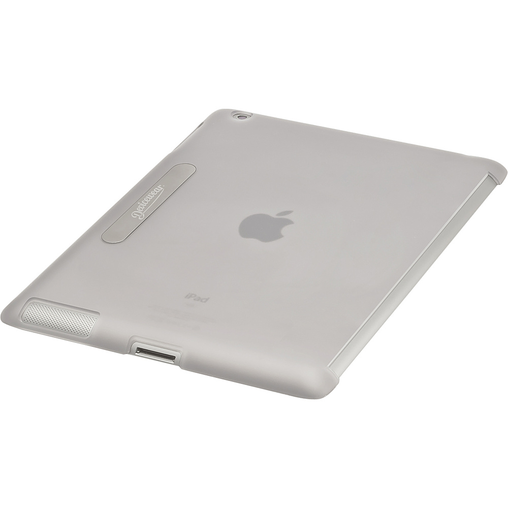 Devicewear Union Shell: iPad 3 Back Cover - Smart Cover Compatible (Fits The New iPad & iPad 2) Clear - Devicewear Electronic Cases