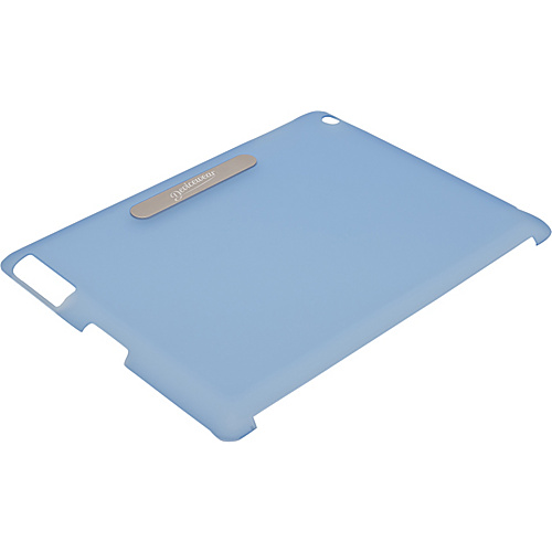 Devicewear Union Shell: iPad 3 Back Cover - Smart Cover Compatible (Fits The New iPad & iPad 2) Blue - Devicewear Laptop Sleeves