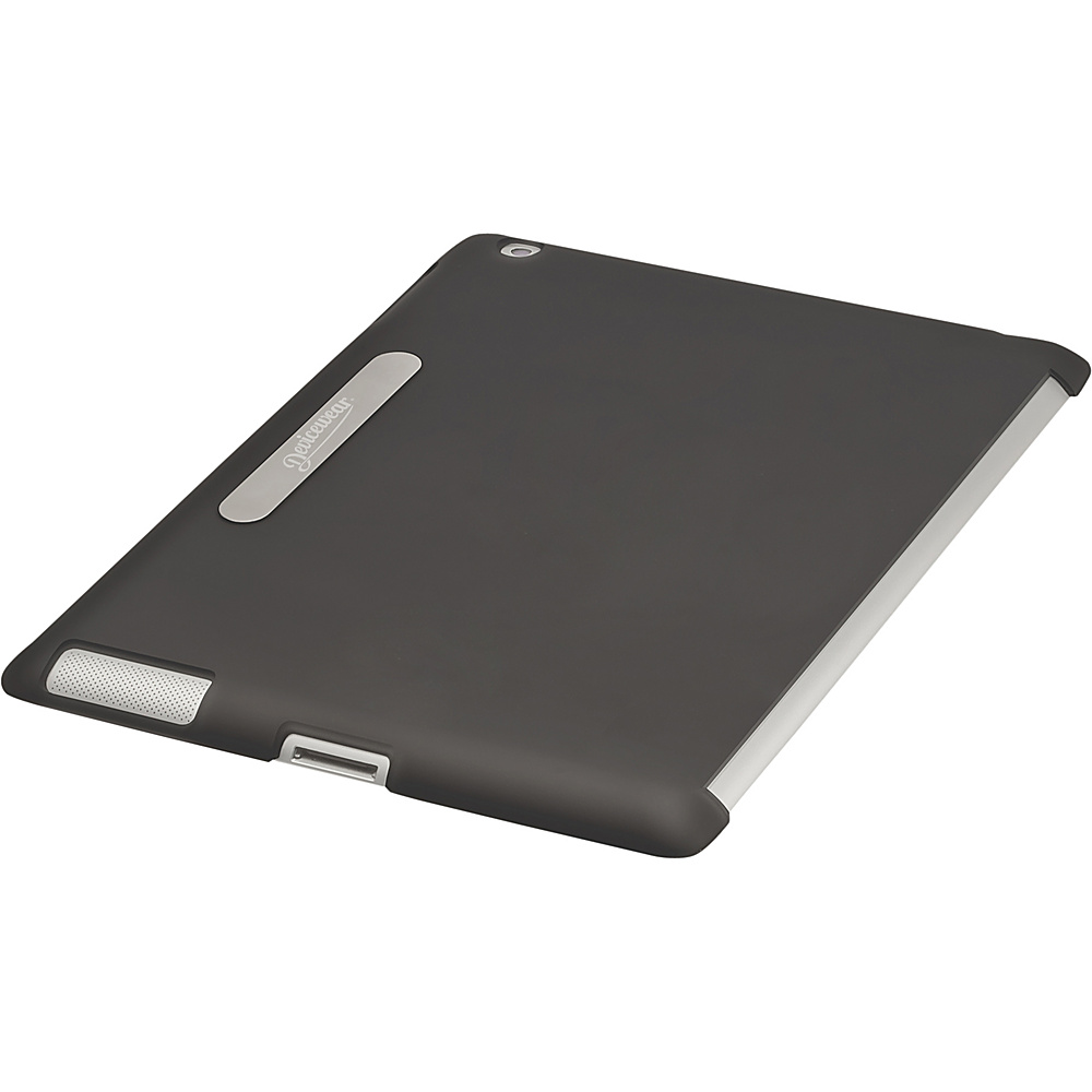 Devicewear Union Shell: iPad 3 Back Cover - Smart Cover Compatible (Fits The New iPad & iPad 2) Black - Devicewear Electronic Cases