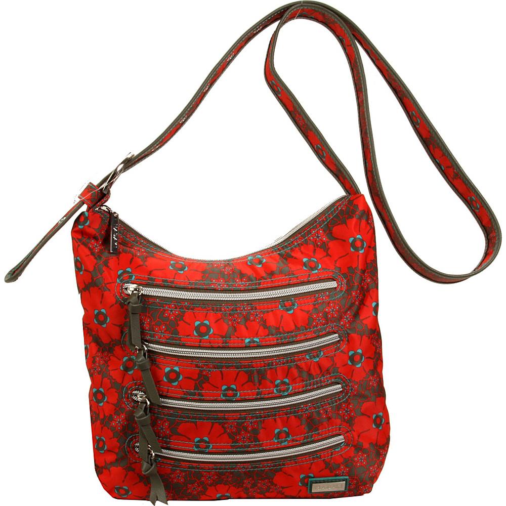Hadaki Nylon Millipede Tote Primavera Lacey - Hadaki Fabric Handbags - Handbags, Fabric Handbags