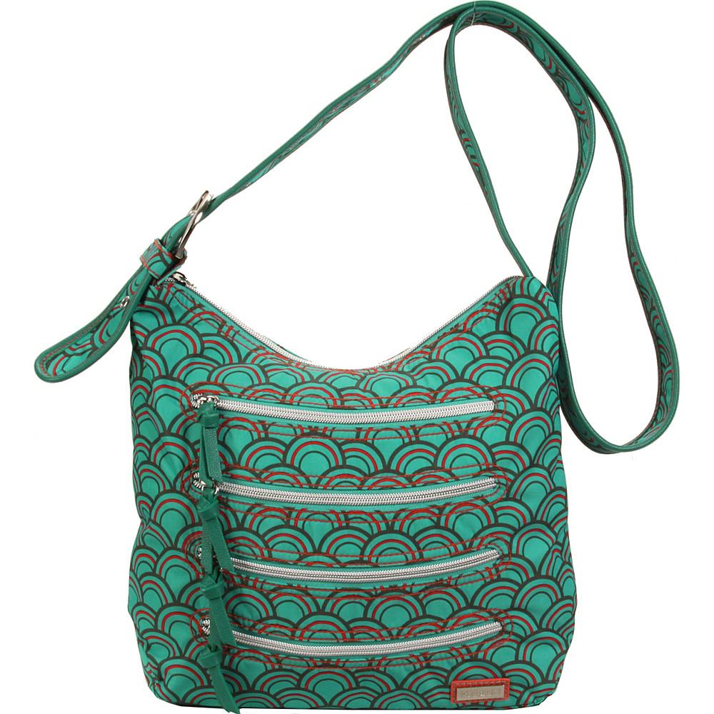Hadaki Nylon Millipede Tote Primavera Sunrays - Hadaki Fabric Handbags - Handbags, Fabric Handbags