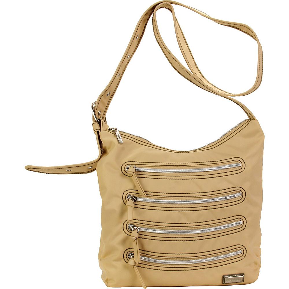 Hadaki Nylon Millipede Tote Semolina - Hadaki Fabric Handbags - Handbags, Fabric Handbags