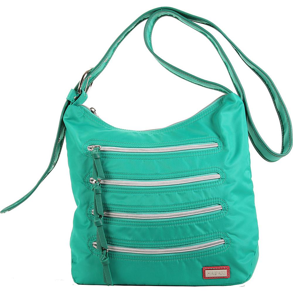 Hadaki Nylon Millipede Tote Viridian Green - Hadaki Fabric Handbags - Handbags, Fabric Handbags
