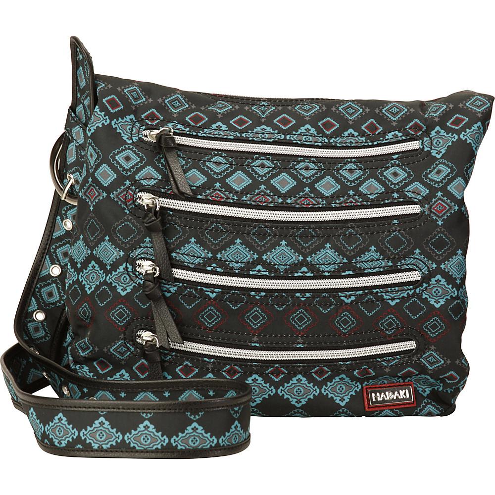 Hadaki Nylon Millipede Tote Geo - Hadaki Fabric Handbags - Handbags, Fabric Handbags