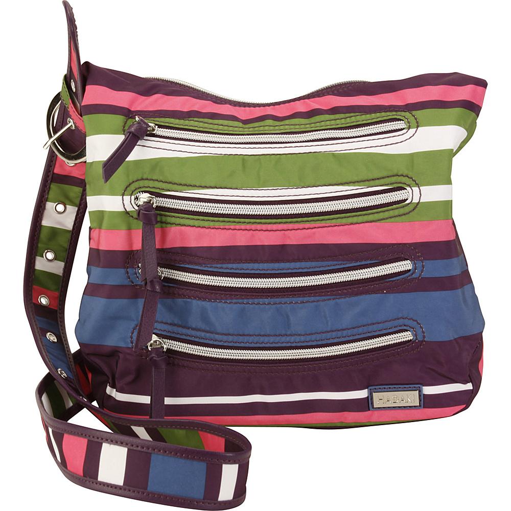 Hadaki Nylon Millipede Tote Stripes - Hadaki Fabric Handbags - Handbags, Fabric Handbags