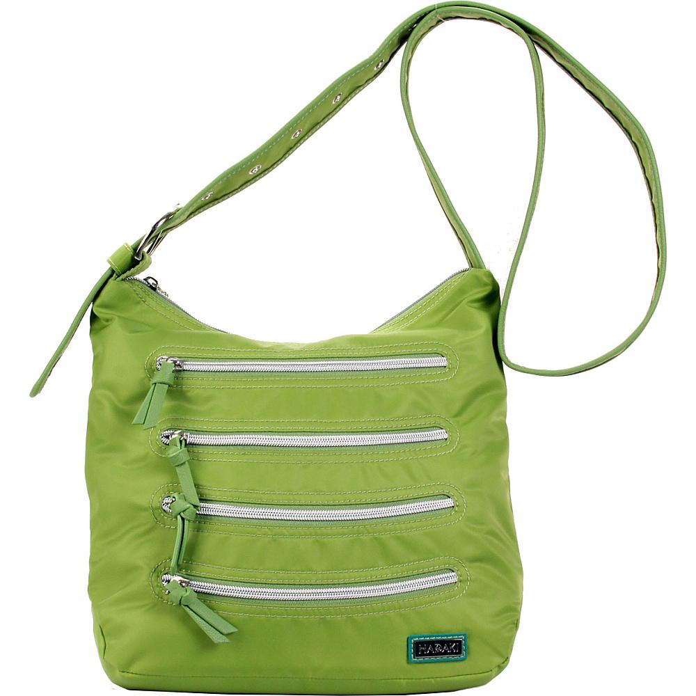 Hadaki Nylon Millipede Tote Piquat Green - Hadaki Fabric Handbags - Handbags, Fabric Handbags