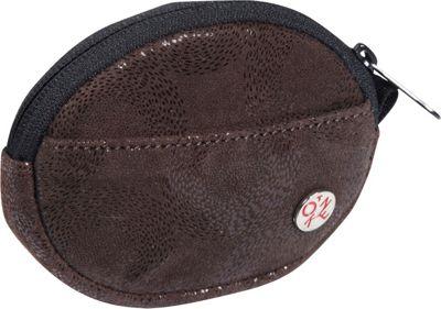 TOKEN Leather Token Coin Purse Dark Brown - TOKEN Women's Wallets