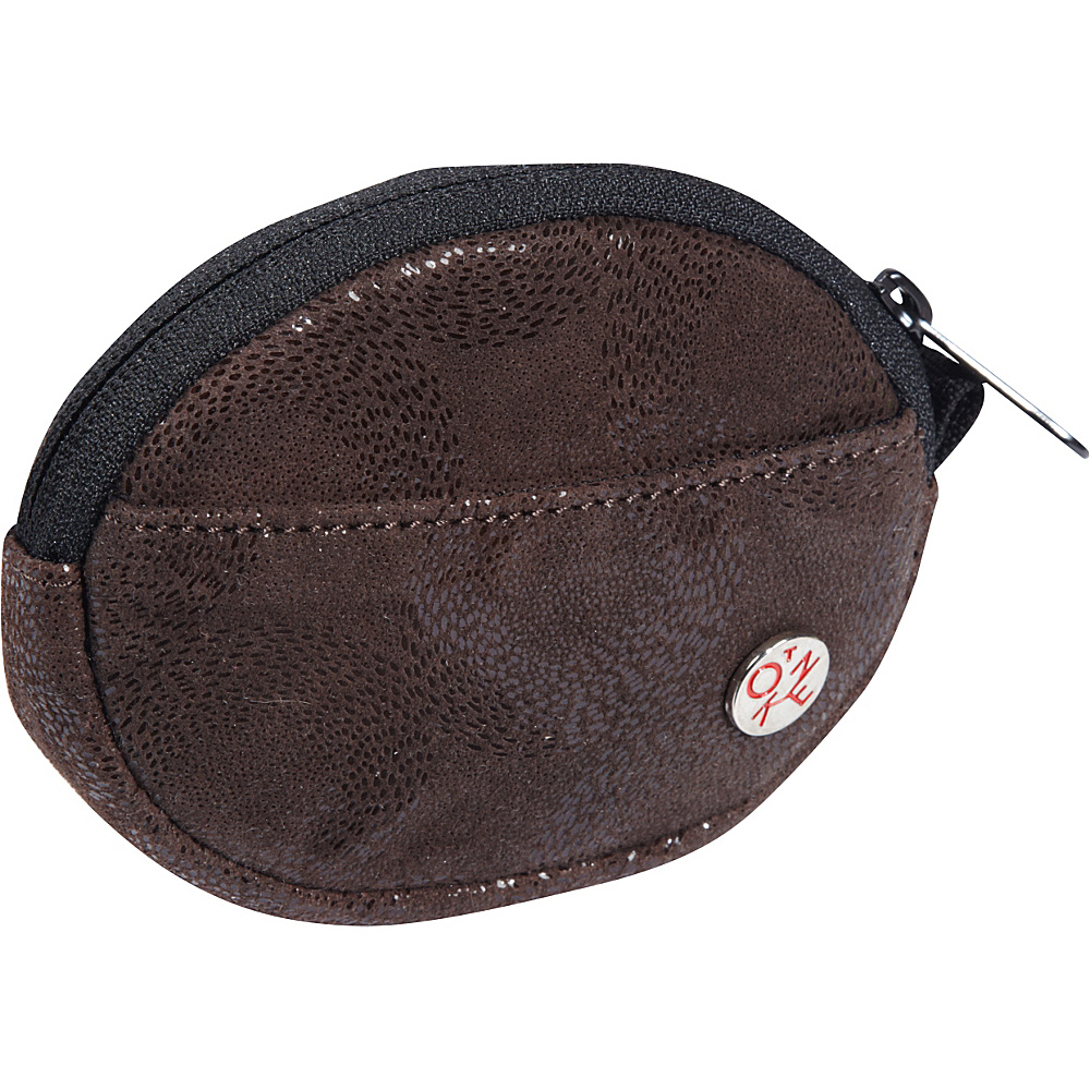 TOKEN Leather Token Coin Purse Dark Brown - TOKEN Women's Wallets
