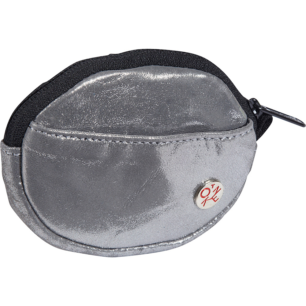 TOKEN Leather Token Coin Purse Metal Silver - TOKEN Women's Wallets